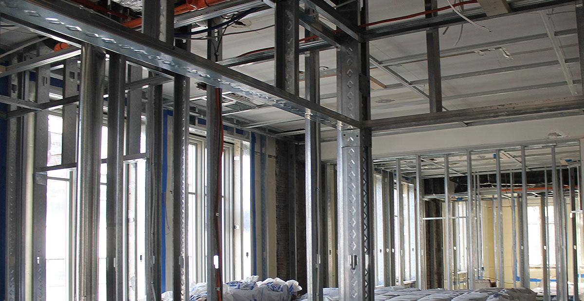 Metal Framing and Drywall – Gridworks by McRoberts, Inc. – Malta, NY